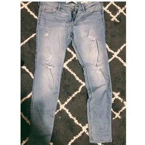 Hollister Light wash denim jeans size 15R
